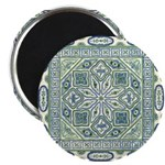 "China (Blue) 2.25"" Magnet (10 pack)"