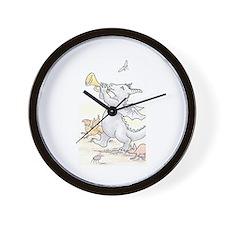 Dragon Parade Wall Clock