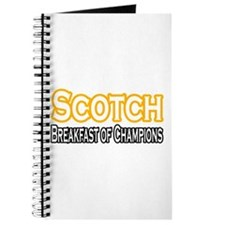 """Scotch. Breakfast of..."" Journal"