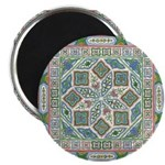 "Chinese Floral 2.25"" Magnet (10 pack)"