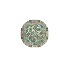 Chinese Floral Mini Button (10 pack)