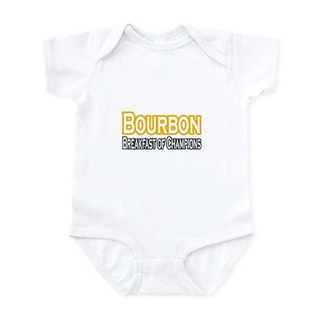 """""""Bourbon. Breakfast..."""" Infant Bodysuit"""