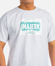 IMAJERK Ash Grey T-Shirt