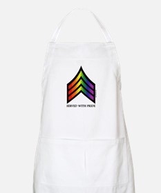 Served With Pride BBQ Apron