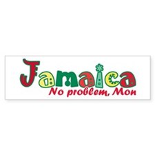 Jamaica No Problem Bumper Sticker