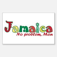 Jamaica No Problem Decal