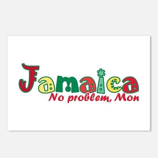 Jamaica No Problem Postcards (Package of 8)