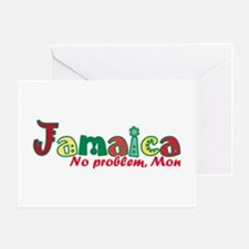 Jamaica No Problem Greeting Card