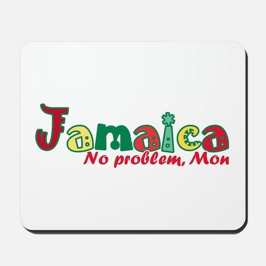 Jamaica No Problem Mousepad