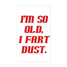 So Old, Fart Dust Rectangle Decal