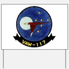 VAW 117 Wallbangers Yard Sign