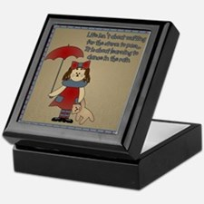 Dance In The Rain Keepsake Box