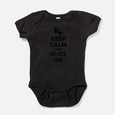Keep calm and Skate on Body Suit