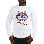 Angus Family Crest Long Sleeve T-Shirt