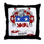 Angus Family Crest Throw Pillow