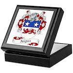 Angus Family Crest Keepsake Box