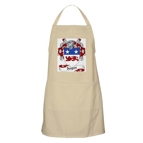 Angus Family Crest BBQ Apron