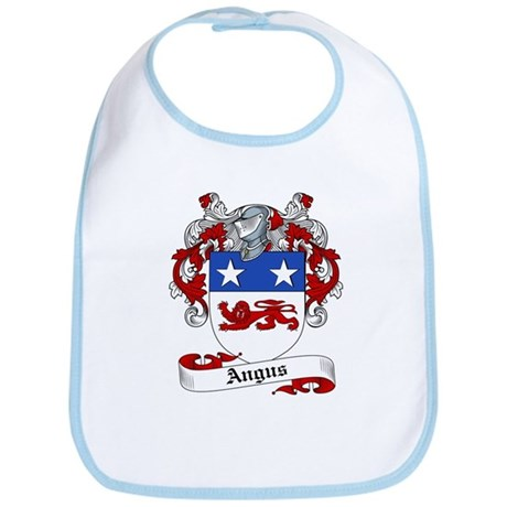 Angus Family Crest Bib