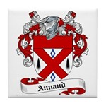 Annand Family Crest Tile Coaster