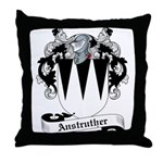 Anstruther Family Crest Throw Pillow