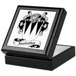 Anstruther Family Crest Keepsake Box