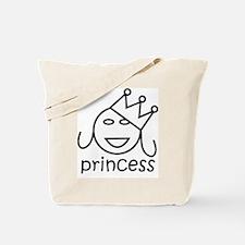 Princess Smiley Gifts Tote Bag