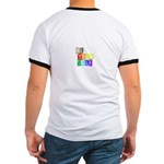 Be Yourself Rainbow 'pride' Ringer T