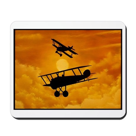 """""""Dogfight"""" Mousepad"""