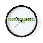 Boulder Model Wall Clock