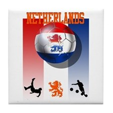 Netherlands Football Tile Coaster