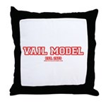 Vail Model Throw Pillow