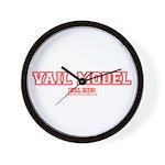 Vail Model Wall Clock
