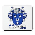 Arbuthnott Family Crest Mousepad