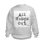 Mused Out Kids Sweatshirt