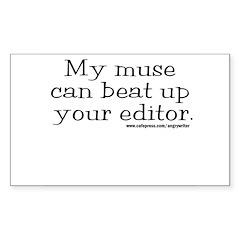 Violent Muse (Editor) Rectangle Sticker 10 pk)
