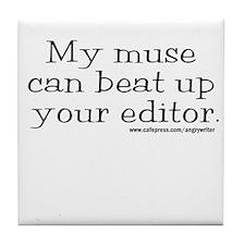 Violent Muse (Editor) Tile Coaster