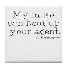 Violent Muse (Agent) Tile Coaster