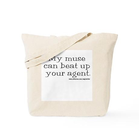 Violent Muse (Agent) Tote Bag