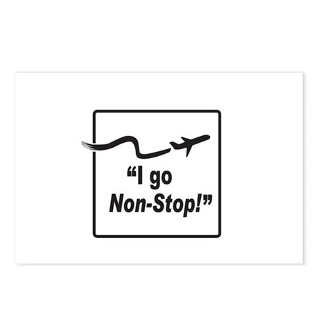 I Go Non-Stop! Postcards (Package of 8)