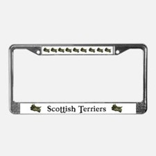 Scottish Terrier License Plat License Plate Frame