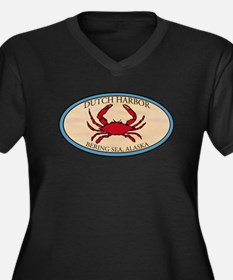 Dutch Harbor Crab Fishing 4 Women's Plus Size V-Ne