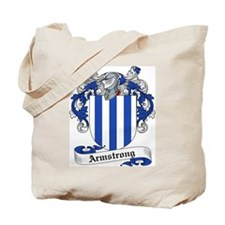 Armstrong Family Crest Tote Bag