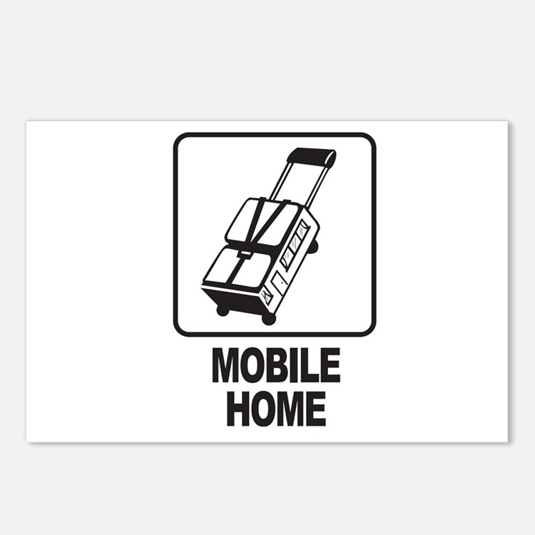 Mobile Home Postcards (Package of 8)