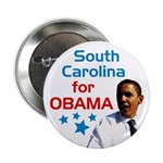 South Carolina for Obama campaign button
