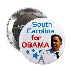 South Carolina for Obama campaign button
