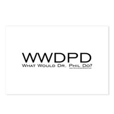 What Would Phil Do Postcards (Package of 8)