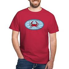 Crab Fishing Alaska Blue T-Shirt