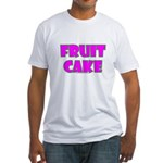 Fruit Cake Fitted T-Shirt