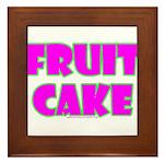 Fruit Cake Framed Tile