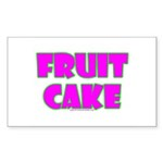 Fruit Cake Rectangle Sticker 10 pk)
